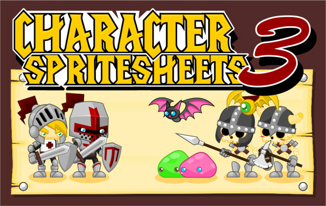 character sprite sheet medieval rpg