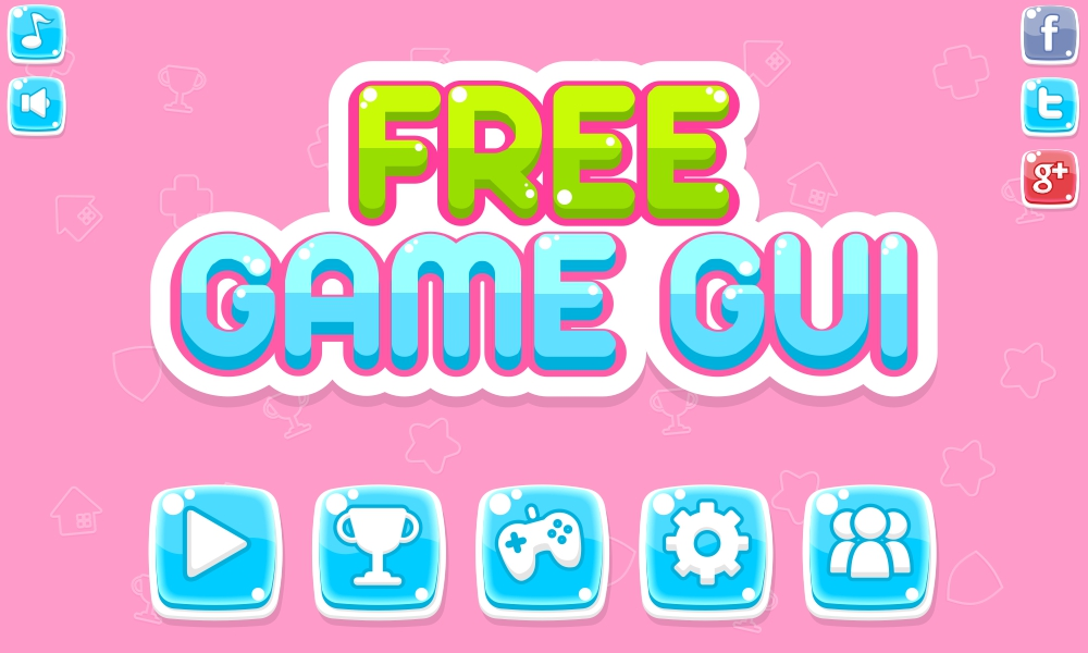 Free Game GUI - Game Art 2D
