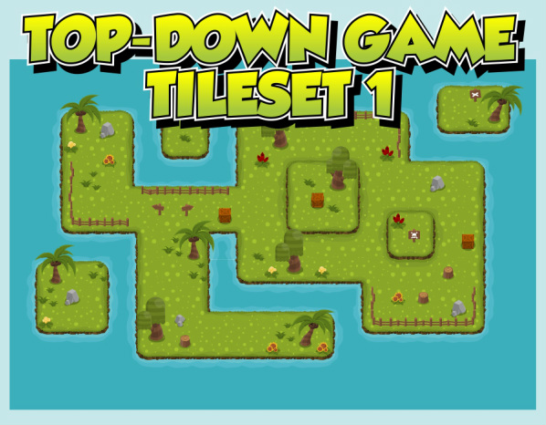 top down tileset map rpg