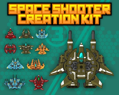 space shooter game sprite