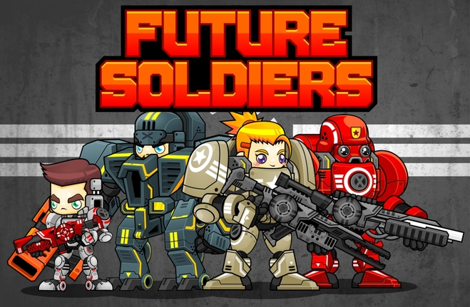 future soldier marine space game sprites