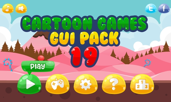 game gui cute kids girl jelly splash