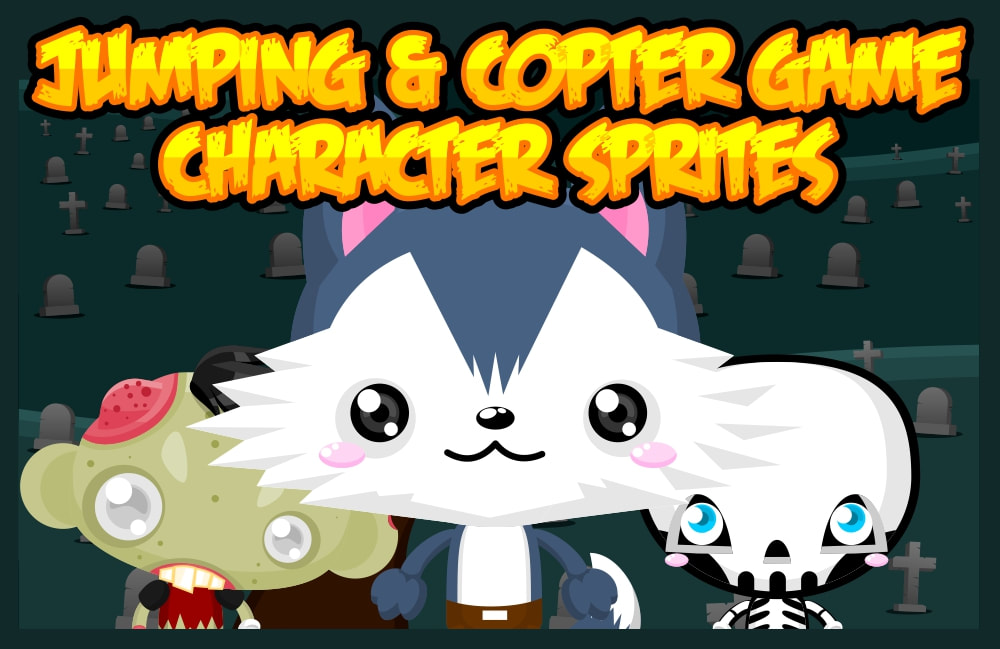 jumping copter game sprite