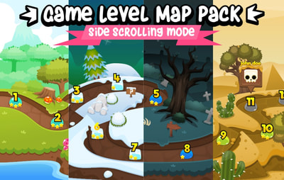 game level map pack