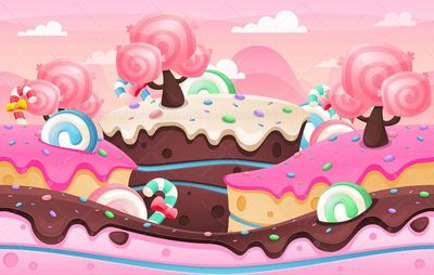 candyland game background