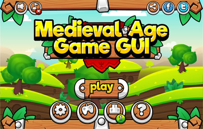 medieval age game gui