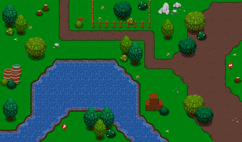 top down RPG tileset