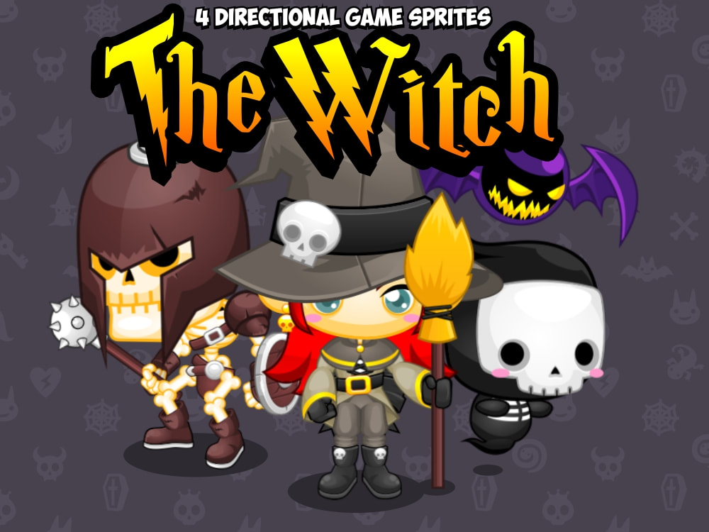 the witch sprite